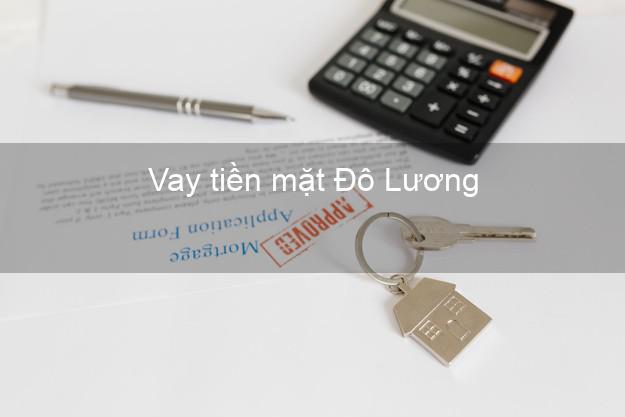 Vay tiền mặt Đô Lương Nghệ An không giữ giấy tờ