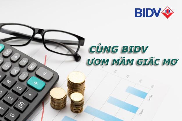Hướng dẫn vay tiền BIDV 2021
